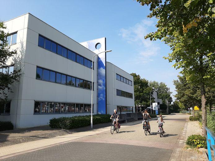 Voorkant van het gebouw waar de nieuwe teststraat komt.