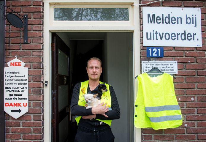 Danny Cornelissen, de Nijmeegse voorman van de Gele Hesjes.