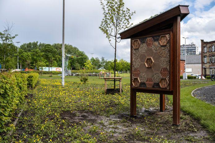 In het nieuwe park mogen twee standplaatsen komen waar bezoekers iets kunnen eten of drinken.