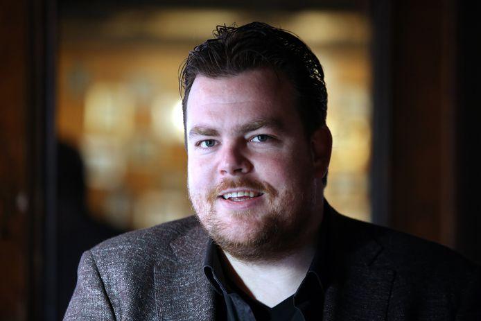 Uitbater Johan de Vos van het Bredase café Boerke Verschuren. Hij is tevens vice-voorzitter van de Bredase afdeling van Koninklijke Horeca Nederland.