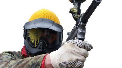 Experiment met paintballgeweer eindigt in de correctionele rechtbank