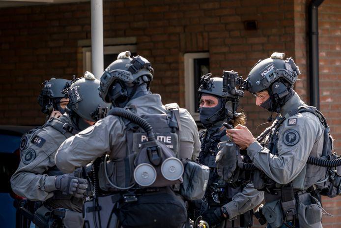 Arrestatieteams hielden in opdracht van de Duitse politie twee mannen aan. Foto ter illustratie.