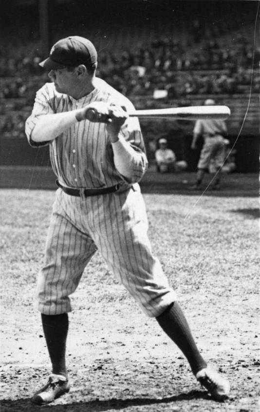 Babe Ruth in 1925.