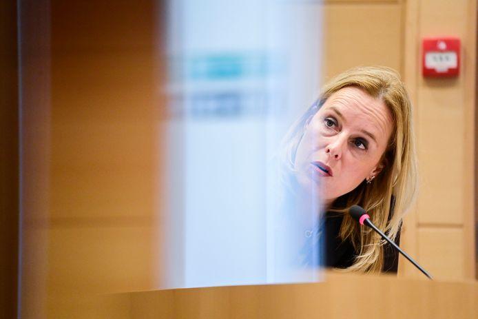 Staatssecretaris van Begroting Eva De Bleeker (Open Vld).