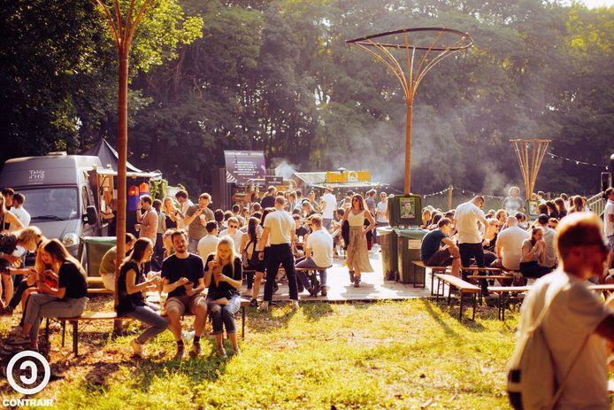De vzw Tegendraads kwam vorige zomer op de valreep nog met een vierdaagse fysieke bijeenkomst met lekker eten en live muziek.