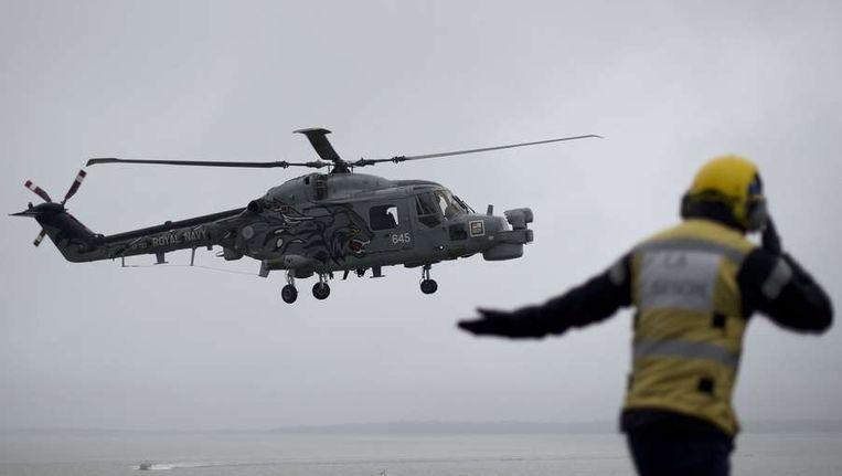 Archieffoto van een Lynx-helikopter Beeld anp