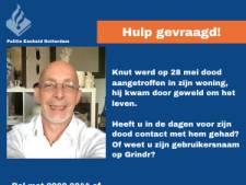 Oproep in homodatingapp Grindr in hoop dat er eindelijk tips komen over moord op Knut