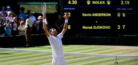 Djokovic bezorgt Grote Drie in tennis nummer 50