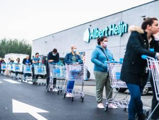 """Meteen lange wachtrij voor opening Albert Heijn Maldegem: """"Meetjesland zat hier duidelijk op te wachten"""""""