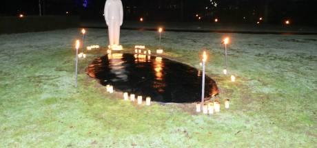 Sfeervolle lichtjesavond crematorium De Maaslanden in Nieuwkuijk