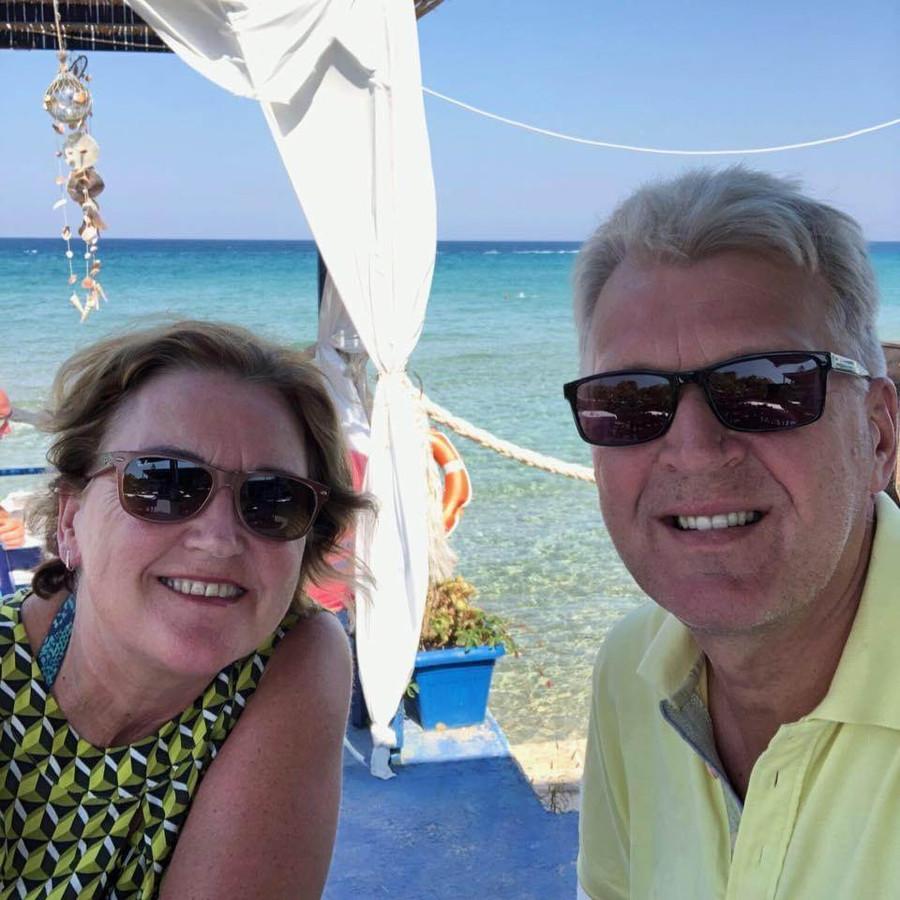 Frank en Ingrid Alfrink uit Nederwetten gaan een maandje naar Bonaire.