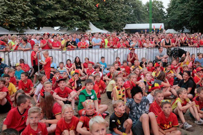 Supporteren voor de Rode Duivels op de Dries in Opdorp zal er tijdens het komende EK niet bij zijn.