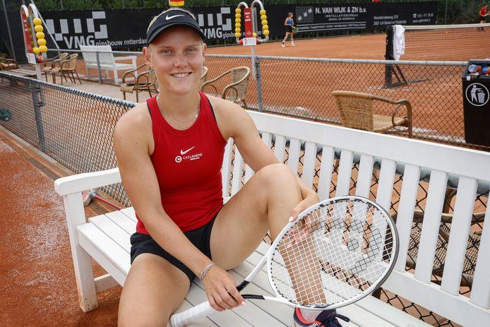 """,,Ik wil kwalificaties van de Grand Slams gaan spelen"""", zegt Suzan Lamens"""