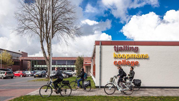 Het Tjalling Koopmans College van de Stichting voor Persoonlijk Onderwijs in Hurdegaryp, 2015. Beeld Harry Cock / de Volkskrant