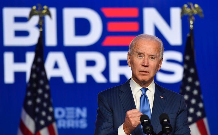 Democraat Joe Biden. Beeld Hollandse Hoogte / AFP
