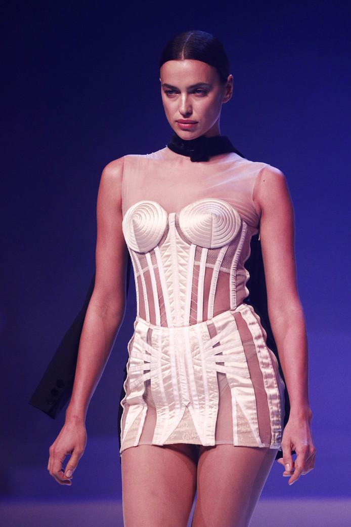 Model Irina Shayk.