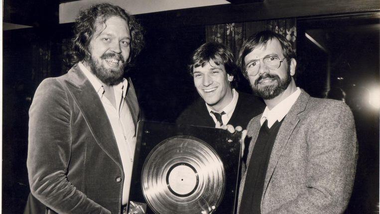 Gouden Plaat voor Diesel voor de cd met daarop Sausalito Summernight, 1982. Beeld Archief Pim Koopman