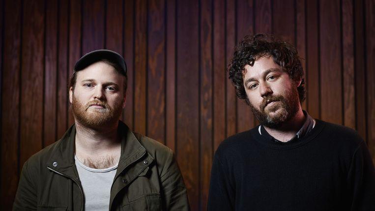 Kyle Dixon en Michael Stein, de componisten van 'Stranger Things'. Beeld Netflix
