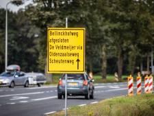 Boosheid over afsluiting Bellinckhofweg bij Weerselo: 'We wisten van niets'