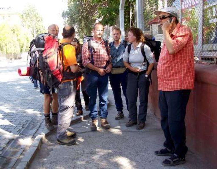 De rest van de groep bergbeklimmers mocht terugkeren naar de stad Dogubayazit.