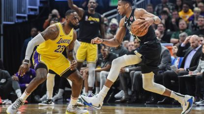Milwaukee Bucks verslaan LA Lakers in clash der koplopers, Giannis grote uitblinker in duel tegen LeBron