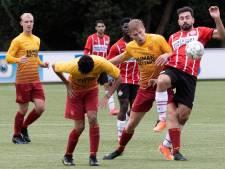 Overzicht 3D Zuid 1: PSV AV klopt DBS in venijnige stadsderby met vier rode kaarten; SBC wint derby tegen Nijnsel