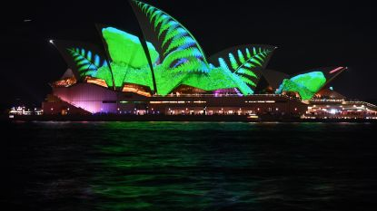 Indrukwekkend lichtfestival in Sydney