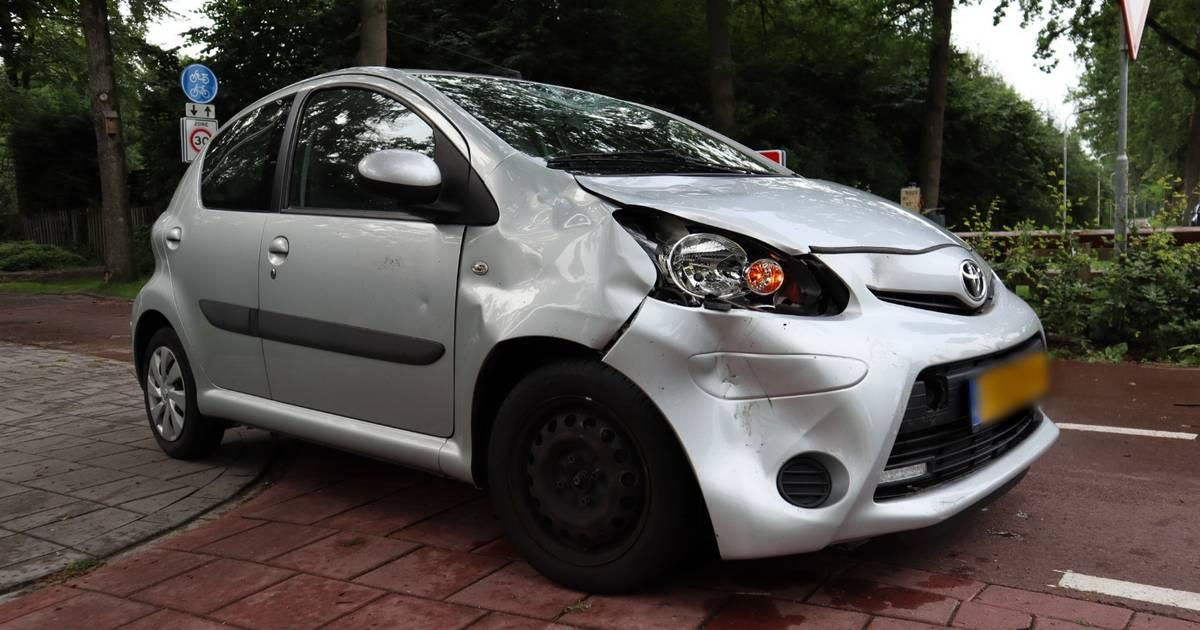 Bromfietser gewond bij aanrijding met auto in Kaatsheuvel.