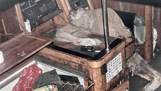 Het lichaam van de zeiler raakte gemummificeerd door de droge, zilte zeelucht.