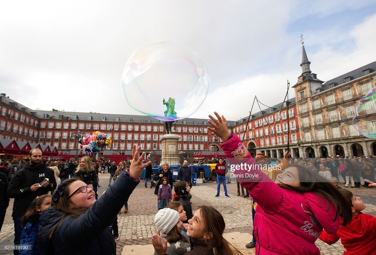 Madrid. Beeld Getty Images