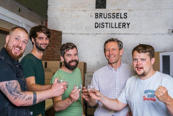 Brouwers toosten op 'Smells Like Brussels Spirit'.