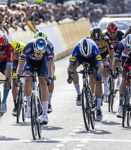 Gewicht in snoep voor winnaar Benelux Tour-etappe van Essen naar Hoogerheide