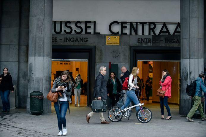 Image d'illustration. La gare Centrale à Bruxelles.
