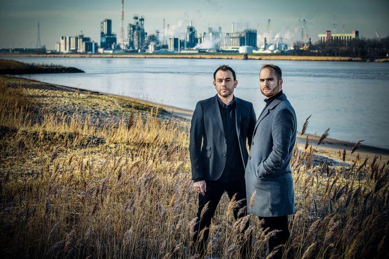 Het programma 'Cold Case', waarin twee journalisten een moord ophelderen, wordt normaal morgen uitgezonden. Beeld RV VTM