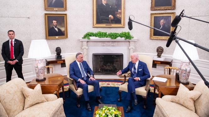 """Biden: """"Einde van Amerikaanse gevechtsmissie in Irak"""""""