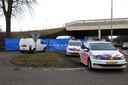 Veel hulpdiensten bij de plaats van de schietpartij in Schaijk.