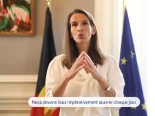 """Le message de la Première ministre Wilmès: """"Nous sommes la solution, notre avenir est entre nos mains"""""""