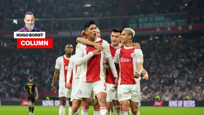 Column Hugo Borst | Begin februari krijgt Ajax na een 17-1 overwinning op Sparta de schaal uitgereikt