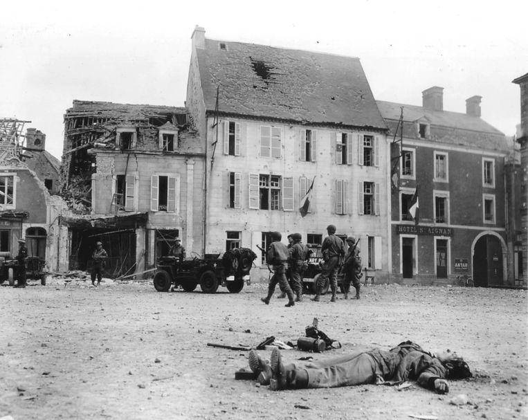 Hetzelfde plein toen (1944). Beeld reuters
