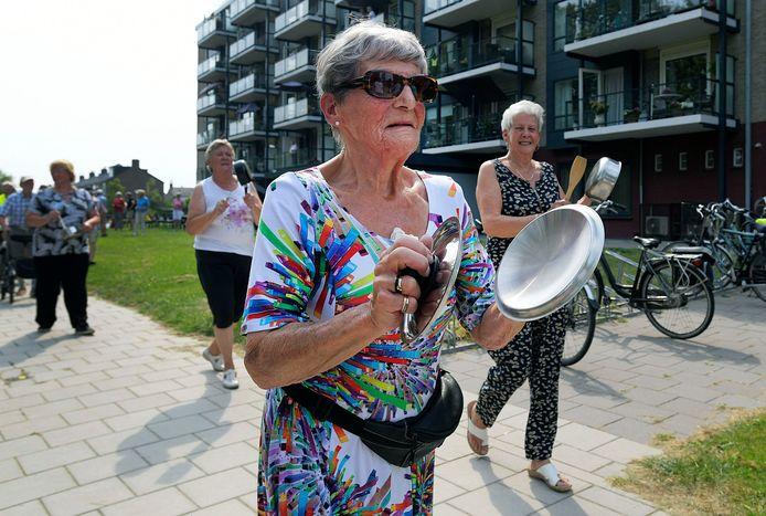 Vorig jaar hielden de gebruikers van De Gravin nog een lawaai-actie tegen 'huisbaas' De Gravenhorst.