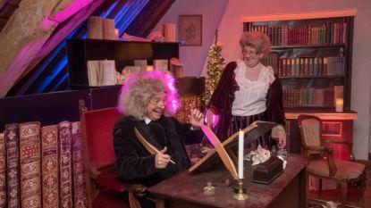 Magische kerstsfeer in kasteel Vlamertinge