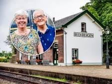 Wien en Jeanette wonen op station Beekbergen: 'Ons 40-jarig huwelijk hebben we in de trein gevierd'