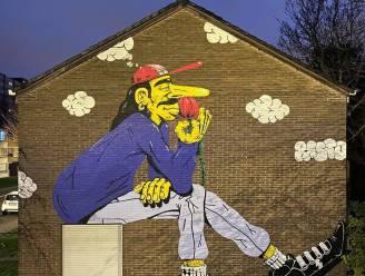 Nieuwe gigantische muurschildering kleurt Nieuw Gent