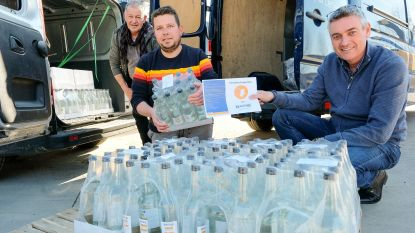Gemeente koopt 500 liter handgel voor MS Center en WZC Floordam