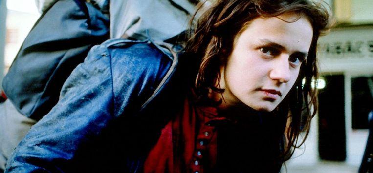 Sandrine Bonnaire in Sans toit ni loi Beeld