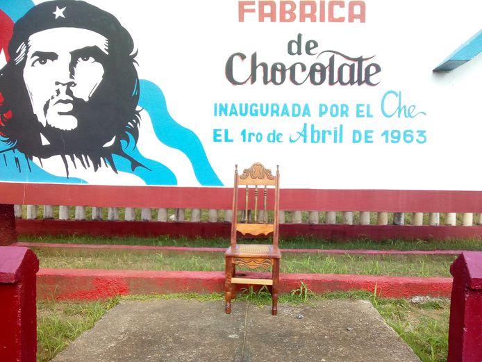 De stoel uit Cuba, die vanuit Havana vertrekt