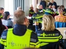 Amsterdamse politie voert actie voor beter pensioen
