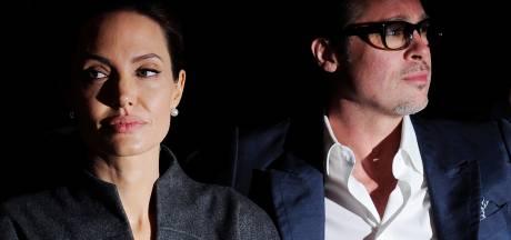 'Spanning om voogdij tussen Brad en Angelina laait op'