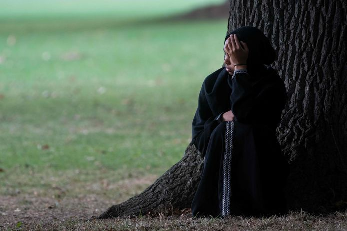 In Christchurch wordt gerouwd om de doden van de terreuraanslag vrijdag.