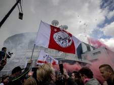 Kampioensfeest bij Arena, maar geen afterparty in de stad: 'Ik dacht dat het hier vol zou staan'